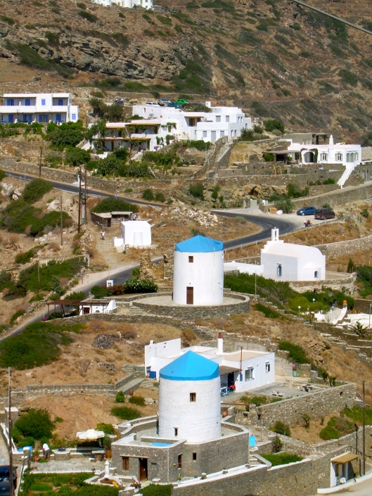 Windmills in Serifos