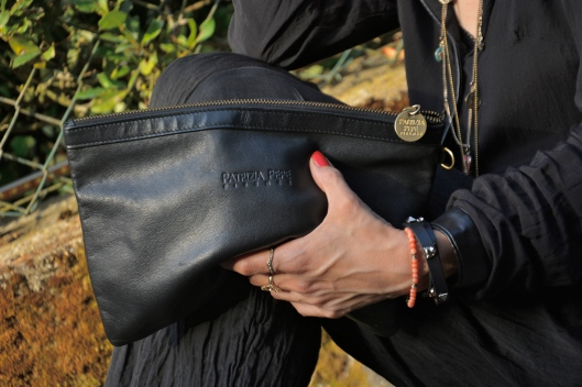 PATRIZIA PEPE black clutch