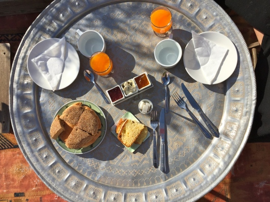 Breakfast in Marrakech