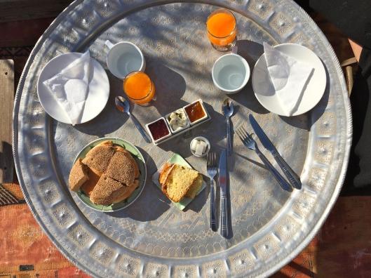 Breakfast in Marrakech