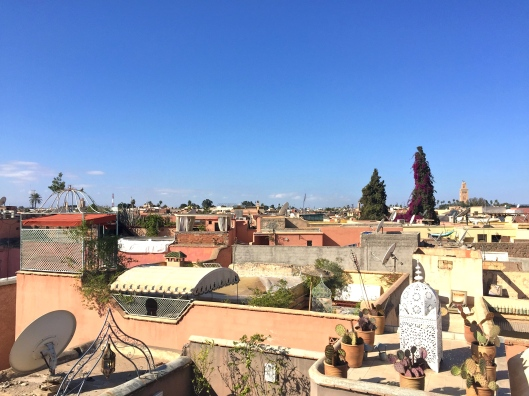 Marrakech rooftop